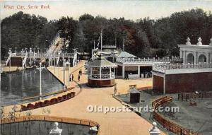 Savin Rock, Connecticut, CT, USA Postcard White City 1908