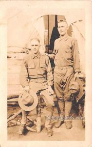 Military Men Military Real Photo Soldier Unused
