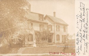Residence in Lisbon Falls, Maine