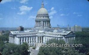 Madison, Wisconsin, WI State Capital, Capitals Postcard Post Card USA  Madiso...