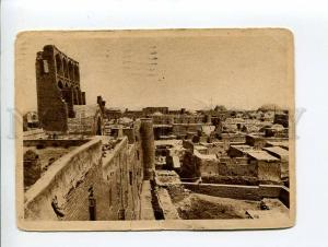 271522 Uzbekistan BUKHARA view 1930 y RPPC Term Red Army stamp