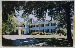 Historic Hildene Manchester Vermont Vintage Postcard