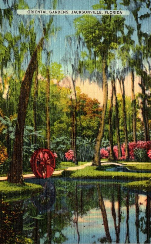 Florida Jacksonville Oriental Gardens