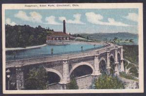 Cincinnati, Ohio Reservoir, Eden Park c 1920