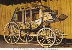 Canada Halifax Concord Stagecoach Nova Scotia Museum