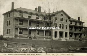 Fort Riley, Kansas, Bachelor Officers Quarters (1907)