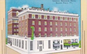 Pennsylvania Beaver Falls General Brodhead Hotel