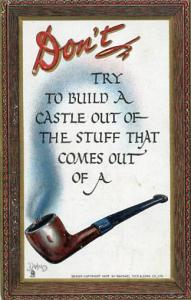 Don't try to build a castle....    Artist Signed: Dwig