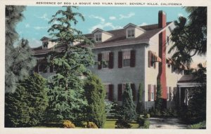 BEVERLY HILLS, California, 1900-10s; Residence of Rod La Roque and Vilma Banky