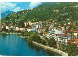 Switzerland, Locarno, Muralto, Lungolago, used Postcard