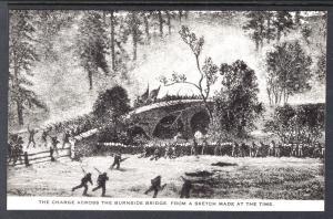 Sketch,The Charge Across the Burnside Bridge