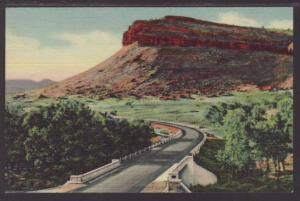 Steamboat Rock St Vrain High Rocky Mountains Postcard 4729