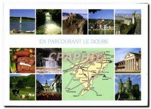 Postcard Modern Traveling the Doubs