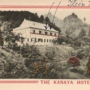 Kanaya Hotel Nikko Japan Postcard