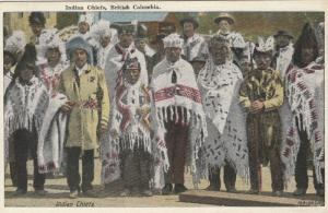 Indian Chiefs , B.C., Canada, 1910s