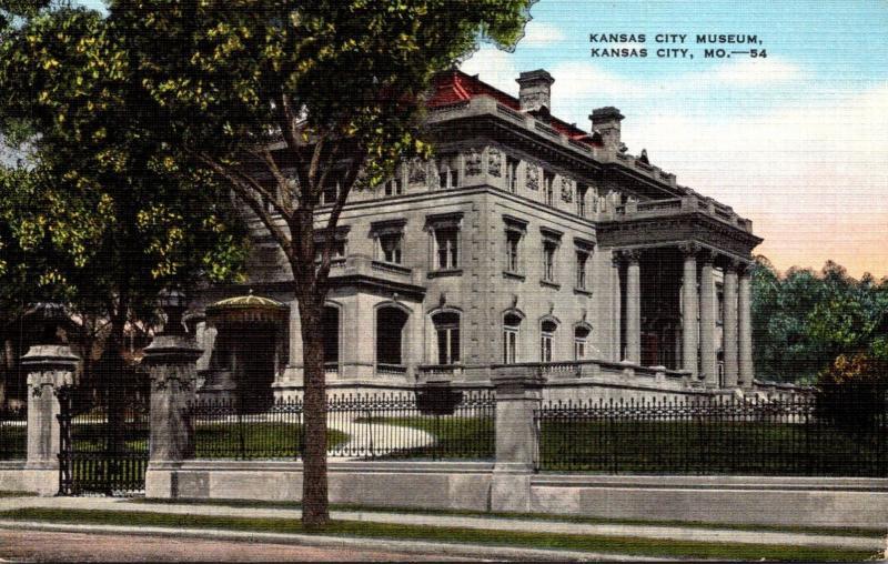 Kansas City Museum Kansas City Missouri 1943