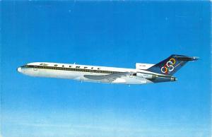 Postcard Olympic Airways Greece Boeing 727-200 Aircraft Aeroplane