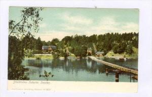Stockholms Suburbs, Sweden, 1900-1910s