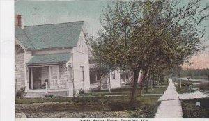 Wisconsin Forest Junction Street Scene
