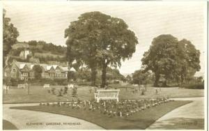 United Kingdom, Blenheim Gardens, Minehead, used Postcard