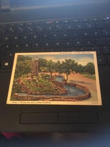 Vtg Postcard:Monkey Moat, City Park, Pueblo CO