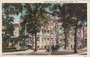 Massachusetts Greenfield The Weldon Hotel