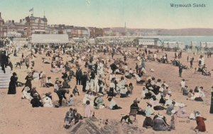 WEYMOUTH, Dorset, England, 1900-1910's; Sands