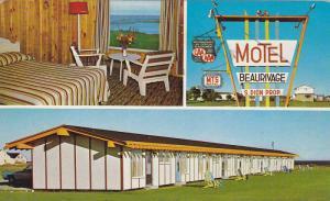 Hotel-Motel Beaurivage , Ste-Anne-des-Monts , Cte GASPE , Quebec , Canada, PU...