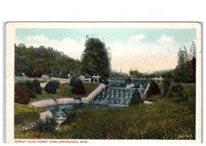 Early 1900s Ripple Falls, Forest Park, Springfield, MA Postcard
