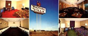 NC - Charlotte and King's Mountain. Royal Villa Motor Inns (3.5 X 8.25).