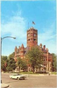 Court House, Bryan, Ohio, 40-60s