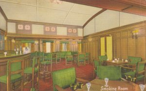 THE FOUR ACES , American Export Lines , 1930-40s ; Smoking Room