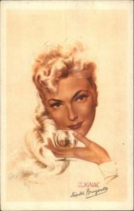 Alcohol - Beautiful Woman  Napoleon Aigle Rouge Cognac - Leopold Brugerolle PC
