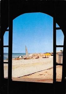 Tunisia Ile de djerba, Sidi Maharez, Vue de Votre Chambre Plage Beach
