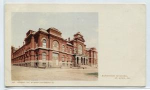 Exposition Building St Louis Missouri Private Mailing Card 1901c postcard