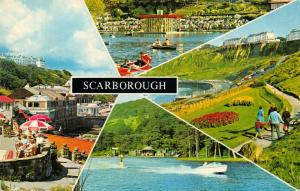 Vintage 1974 Bamforth Postcard, Scarborough, Multi View 11T