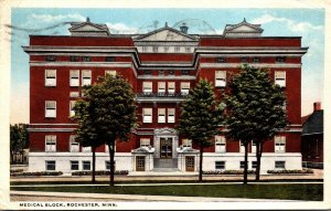 Minnesota Rochester Medical Block 1917