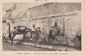 RABAT , Morocco , 00-10s ; Fontaine de la rue Des Consuls