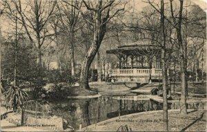 CPA GRENOBLE Jardin de Ville (685800)