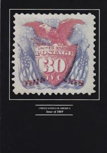 Stamps Of United States 30 Cent Issue of 1869