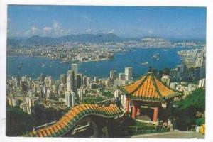 View from Peak, Hong Kong, China, Pu-1983
