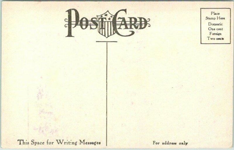1910s HONG KONG Greetings Postcard HARBOR OF HONG KONG, China - Unused