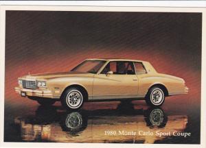 1980 Monte Carlo Sport Coupe, 1980's