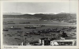Valparaiso Bahia  Real Photo Postcard