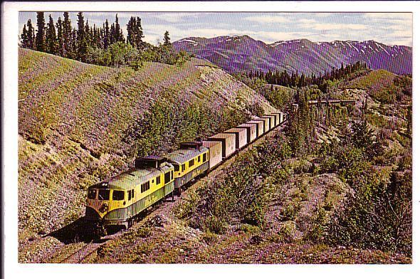 White Pass & Yukon Train, Lake Kelly, Yukon, Photo Wickson,