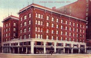 ANDREWS HOTEL, MINNEAPOLIS, MN 1913