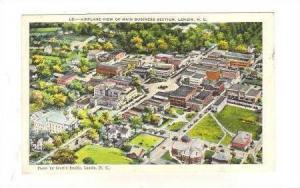 Airplane View of Main Street Business Section, Lenoir, North Carolina, PU-1938