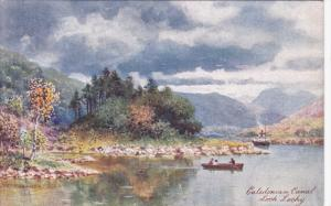 TUCK #7687; CALEDONIAN CANAL, Inverness-shire, Scotland; Loch Lochy, 00-10s