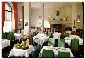 Postcard Modern Restaurant Voyageurs Fougeres A dirty room