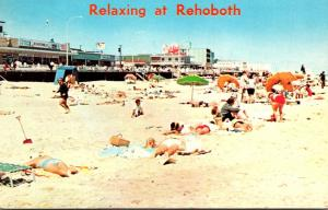 Delaware Rehoboth Beach Having Fun On The Sands 1964
